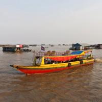 Озеро Тонлесап, Камбоджа