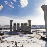 Строительство 4-го моста через Енисей