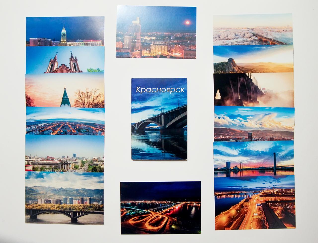 Открытки, открытка город красноярск